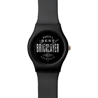 World's Best Bricklayer Watch