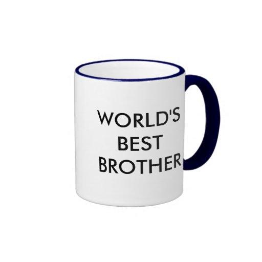 World's best brother coffee mug coffee mugs