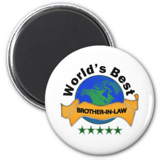 World's Best Brother-In-Law 6 Cm Round Magnet