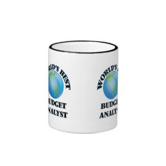 World's Best Budget Analyst Mugs