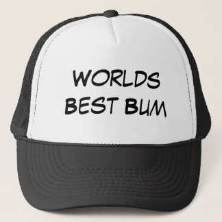 Worlds Best Bum Trucker Hat