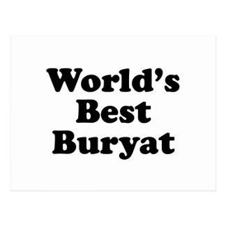 World's Best Buryat Postcard