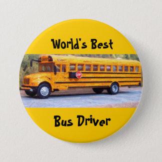 World's Best, Bus Driver 7.5 Cm Round Badge