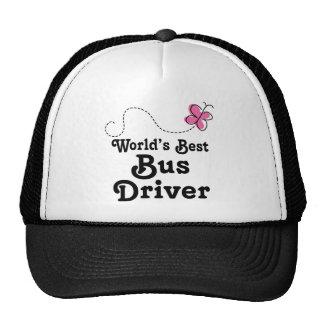 Worlds Best Bus Driver Gift Idea Cap