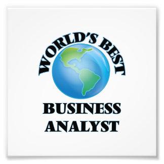 World's Best Business Analyst Photo Art