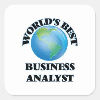 World's Best Business Analyst Sticker