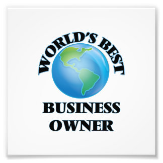 World's Best Business Owner Photo