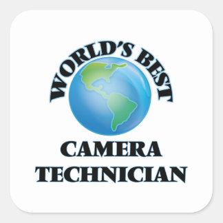 World's Best Camera Technician Square Sticker
