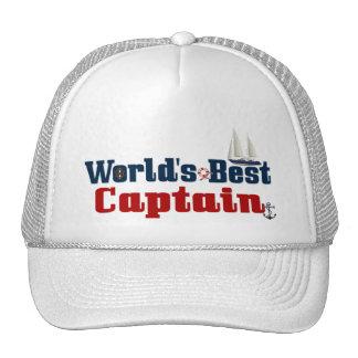 Worlds Best Captain Cap
