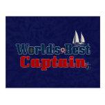 Worlds Best Captain Post Card