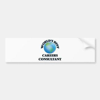 World's Best Careers Consultant Bumper Sticker