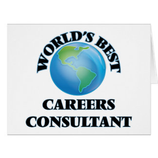 World's Best Careers Consultant Greeting Card