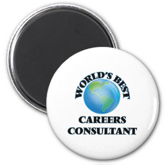World's Best Careers Consultant Refrigerator Magnet