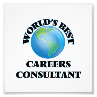 World's Best Careers Consultant Photo Art