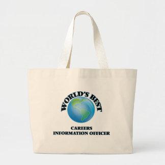 World's Best Careers Information Officer Bag