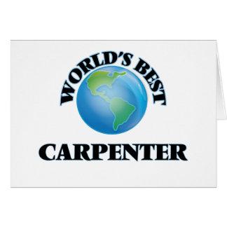 World's Best Carpenter Card