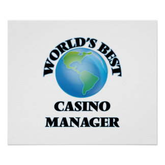 World's Best Casino Manager Poster