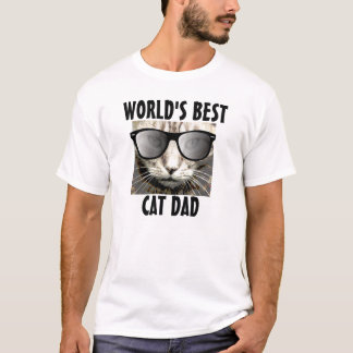 World's Best Cat Dad, T-Shirt