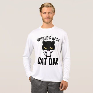 WORLD'S BEST CAT DAD t-shirts