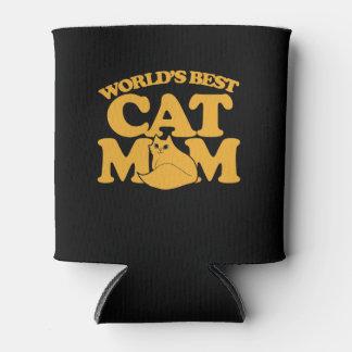World's Best Cat mum Can Cooler