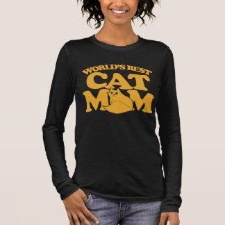 World's Best Cat mum Long Sleeve T-Shirt
