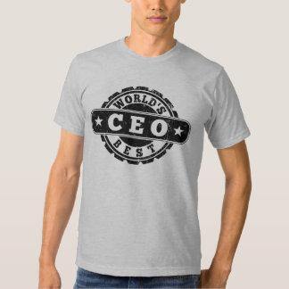 World's Best CEO Tshirt