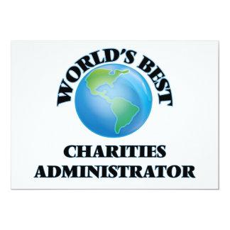 World's Best Charities Administrator Custom Announcements