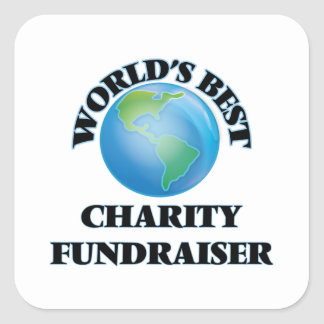 World's Best Charity Fundraiser Stickers