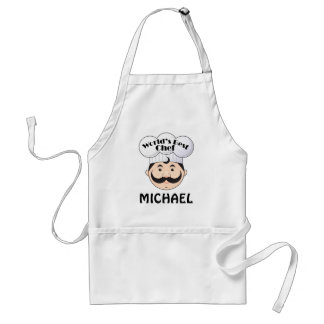 Worlds Best Chef Personalized Apron Gift