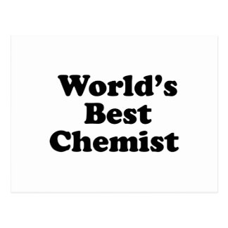 World's Best Chemist Postcard