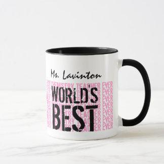World's Best Chemistry Teacher Ever Gift V21 Mug