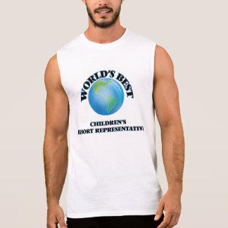 World's Best Children's Resort Representative Sleeveless Shirts