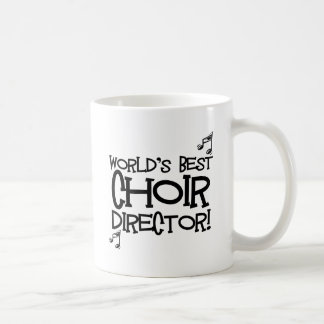 World's Best Choir Director Coffee Mug