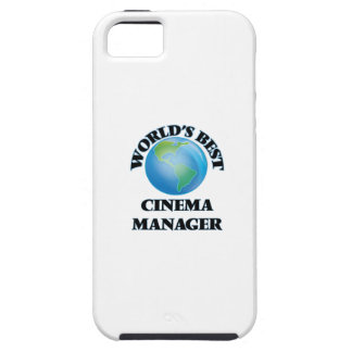 World's Best Cinema Manager iPhone 5 Covers