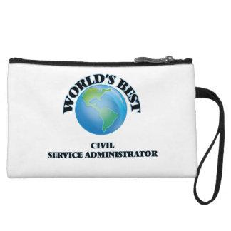 World's Best Civil Service Administrator Wristlet Clutch