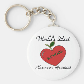 World's Best Classroom Assistant Key Ring