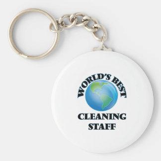 World's Best Cleaning Staff Keychain