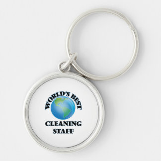 World's Best Cleaning Staff Key Chains