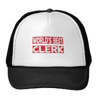 World's Best Clerk. Cap
