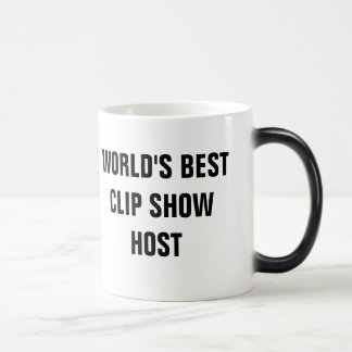 World's Best Clip Show Host Mug