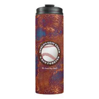World's Best Coach & Dad 1 Options Thermal Tumbler