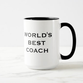 World's Best Coach Mug