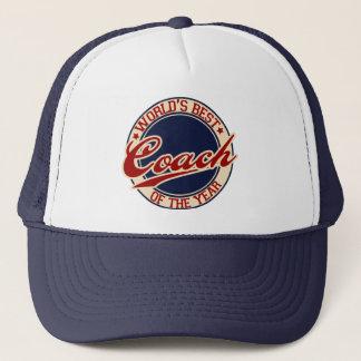 World's Best Coach of the Year Trucker Hat