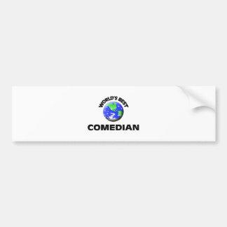 World's Best Comedian Bumper Sticker