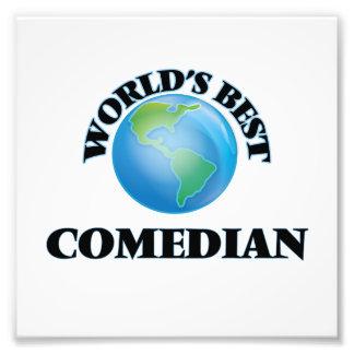 World's Best Comedian Photo Art
