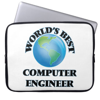 World's Best Computer Engineer Computer Sleeves
