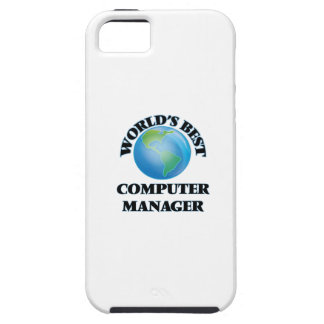 World's Best Computer Manager iPhone 5 Cover