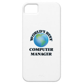 World's Best Computer Manager iPhone 5/5S Case