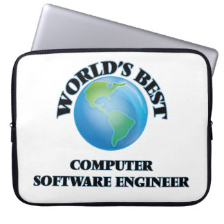 World's Best Computer Software Engineer Laptop Sleeve