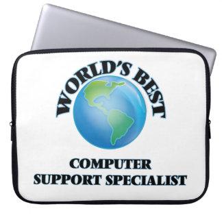World's Best Computer Support Specialist Laptop Computer Sleeves
